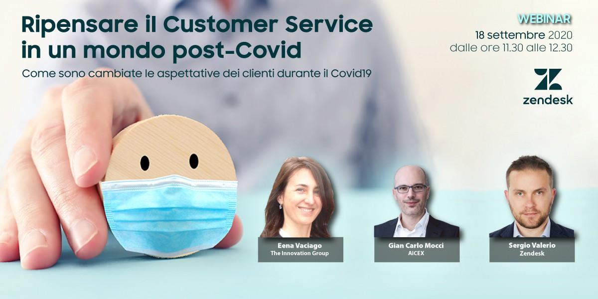 Ripensare il Customer Service in un mondo post-Covid