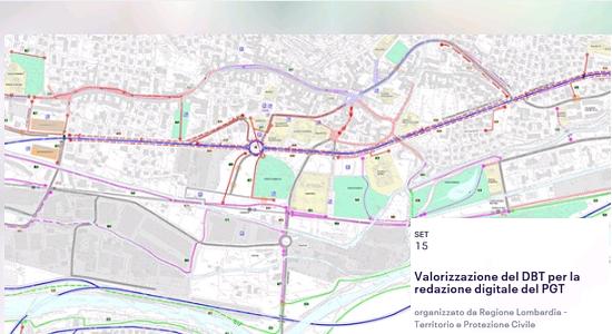 Valorizzazione della base cartografica di riferimento (DBT) per la redazione digitale del Piano di Governo del Territorio (PGT)