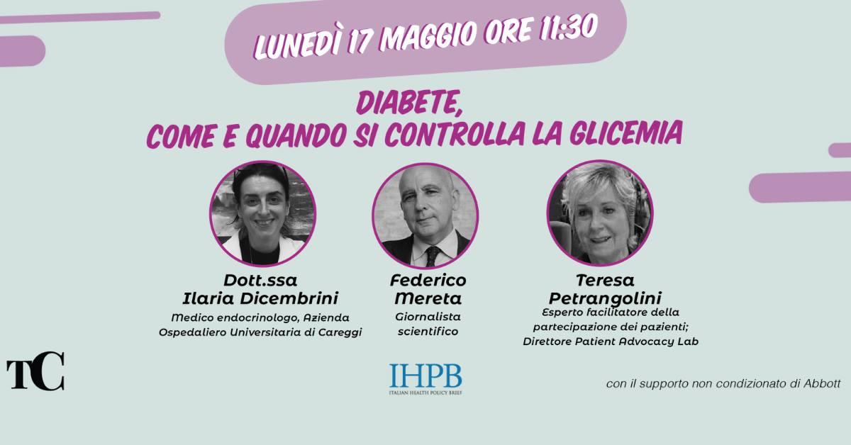 Diabete, come e quando si controlla la glicemia