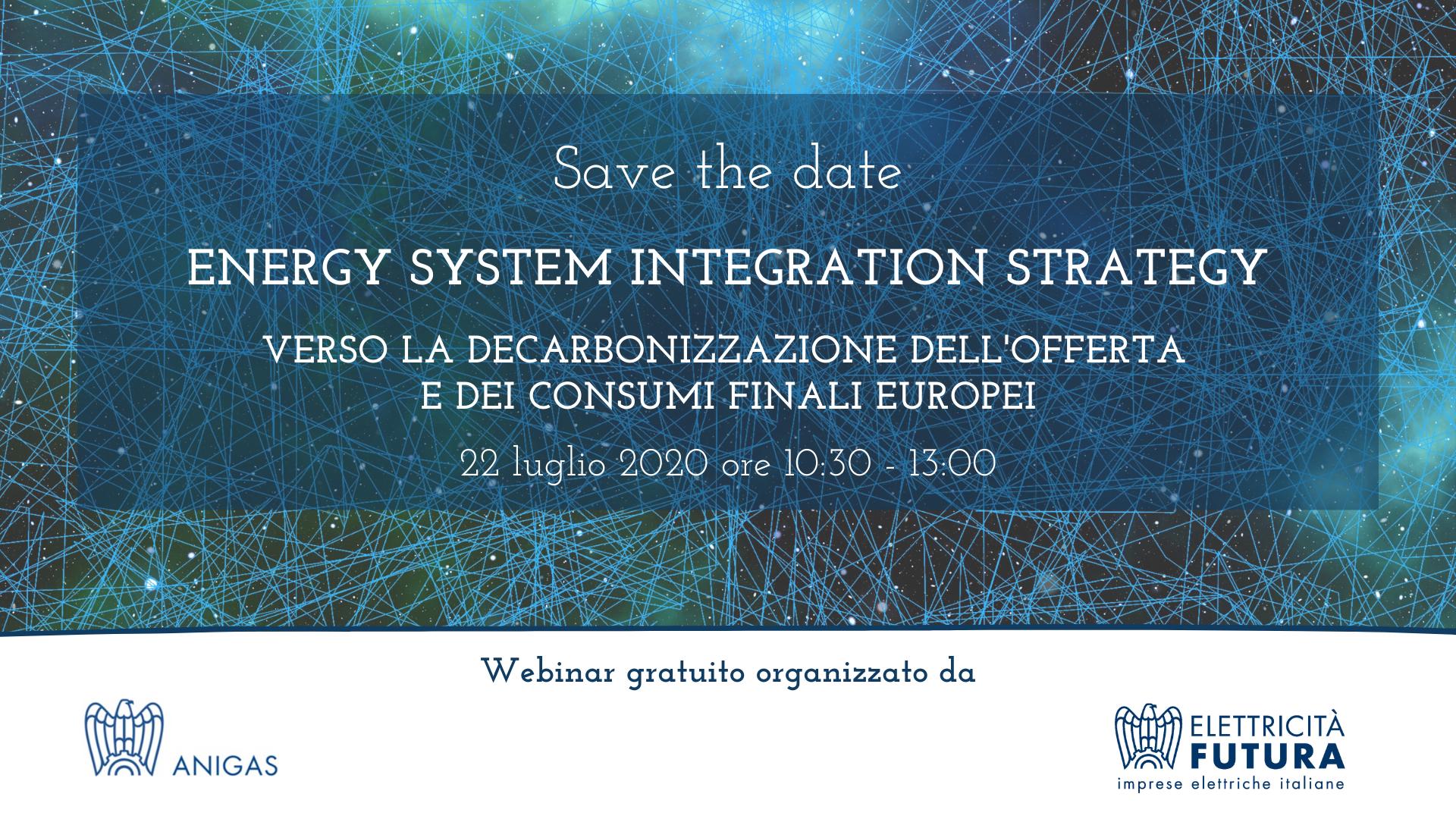 Energy system integration strategy. Verso la decarbonizzazione dell'offerta e dei consumi finali europei