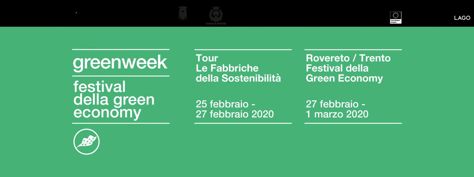Green Week: festival della green economy