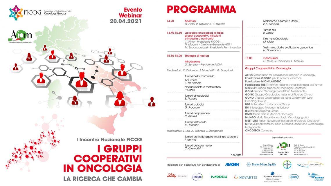 I gruppi cooperativi in oncologia. La ricerca che cambia