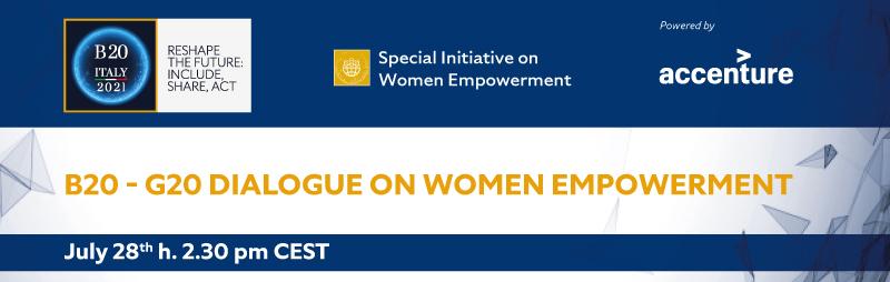 B20 – G20 dialogue on women empowerment