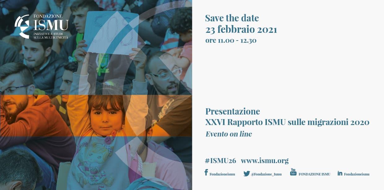XXVI Rapporto Ismu sulle migrazioni 2020 - Presentazione