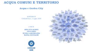 """Presentazione del volume: """"Garden city. Acqua, comuni e territorio"""""""
