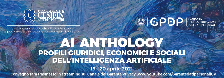 AI Anthology - Profili giuridici, economici e sociali dell'intelligenza artificiale