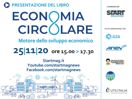 """Presentazione del Libro: """"Economia Circolare Motore dello sviluppo economico"""""""