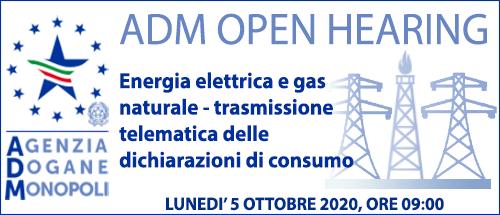 Energia elettrica e gas naturale - nuove modalità di trasmissione telematica delle dichiarazioni di consumo