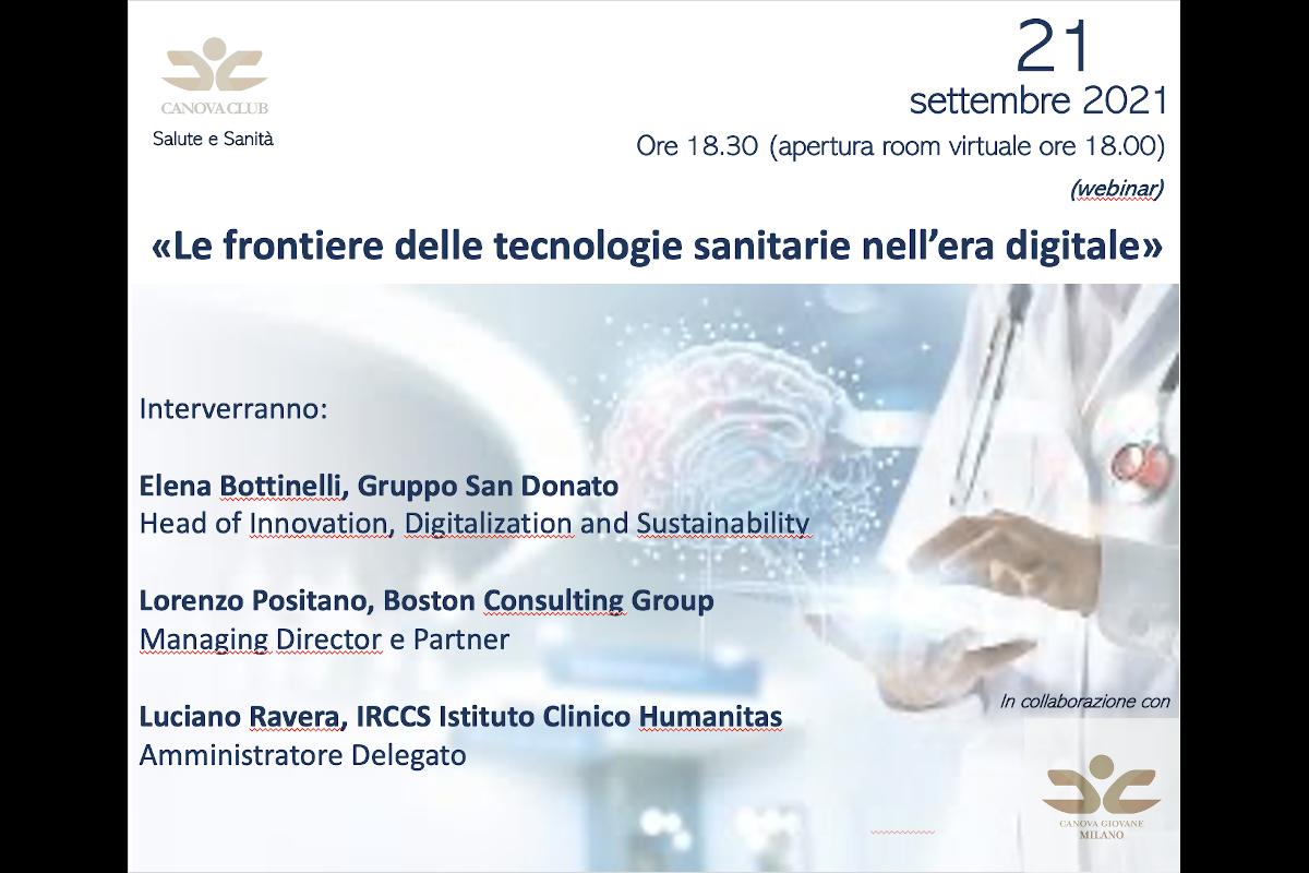 Le frontiere delle tecnologie sanitarie nell'era digitale