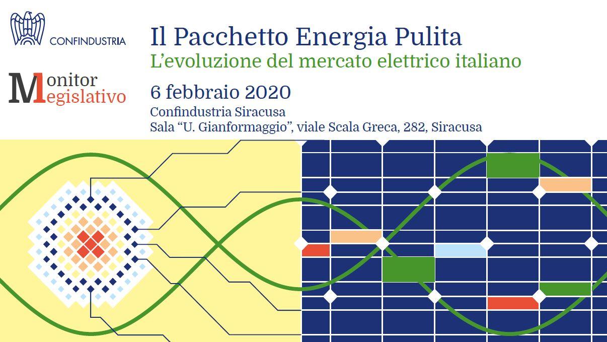 Il Pacchetto Energia Pulita - L'evoluzione del mercato elettrico italiano