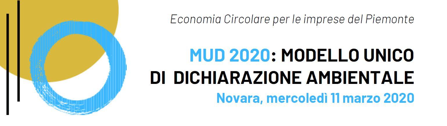 Economia Circolare per le imprese del Piemonte - Modello unico di dichiarazione ambientale