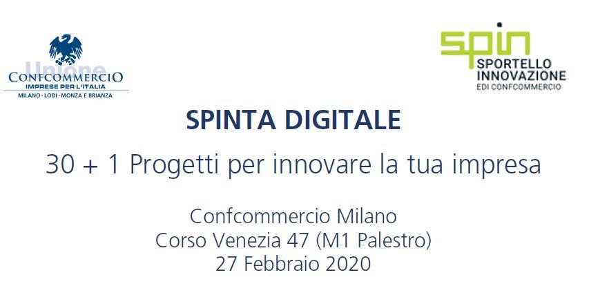 Spinta Digitale: 30 + 1 Progetti per innovare le tua impresa