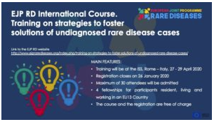 Training on strategies to foster solutions of undiagnosed rare disease cases
