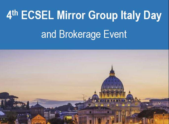 ECSEL Italy Day 2020