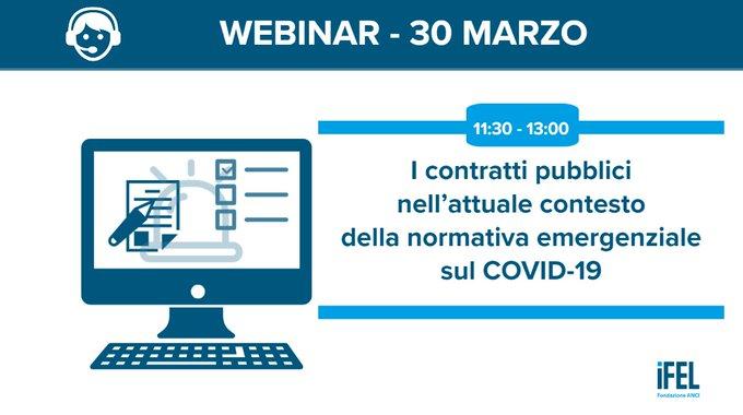 I contratti pubblici nell'attuale contesto della normativa emergenziale sul COVID-19