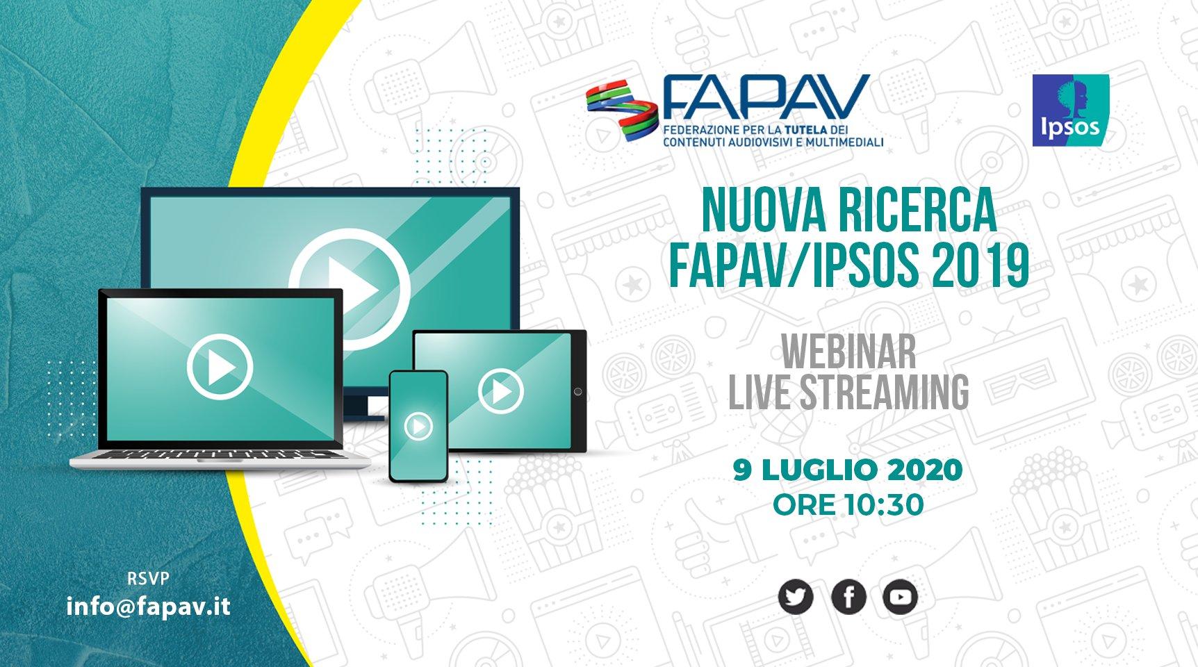Presentazione dei nuovi dati sulla pirateria audiovisiva in Italia