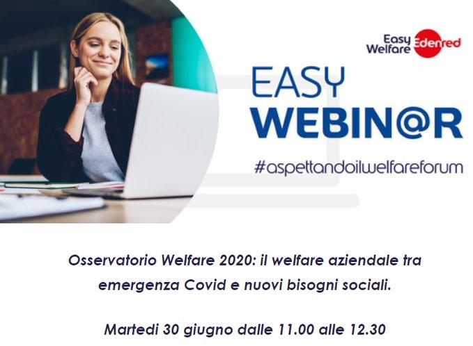 Osservatorio Welfare 2020: il welfare aziendale tra emergenza Covid e nuovi bisogni sociali