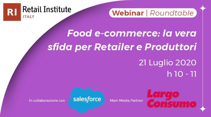 Food e-commerce: la vera sfida per Retailer e Produttori