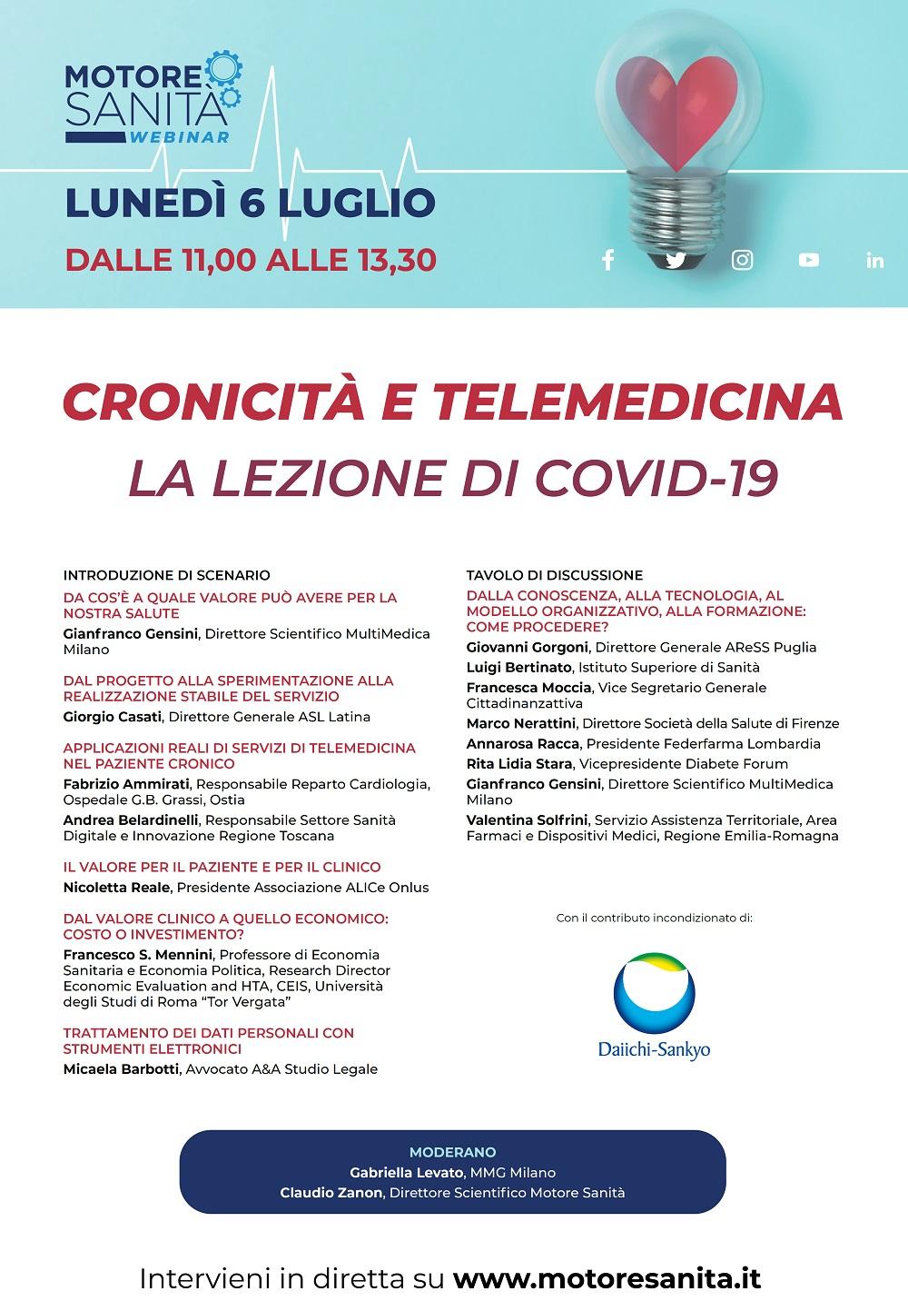 Cronicità e telemedicina