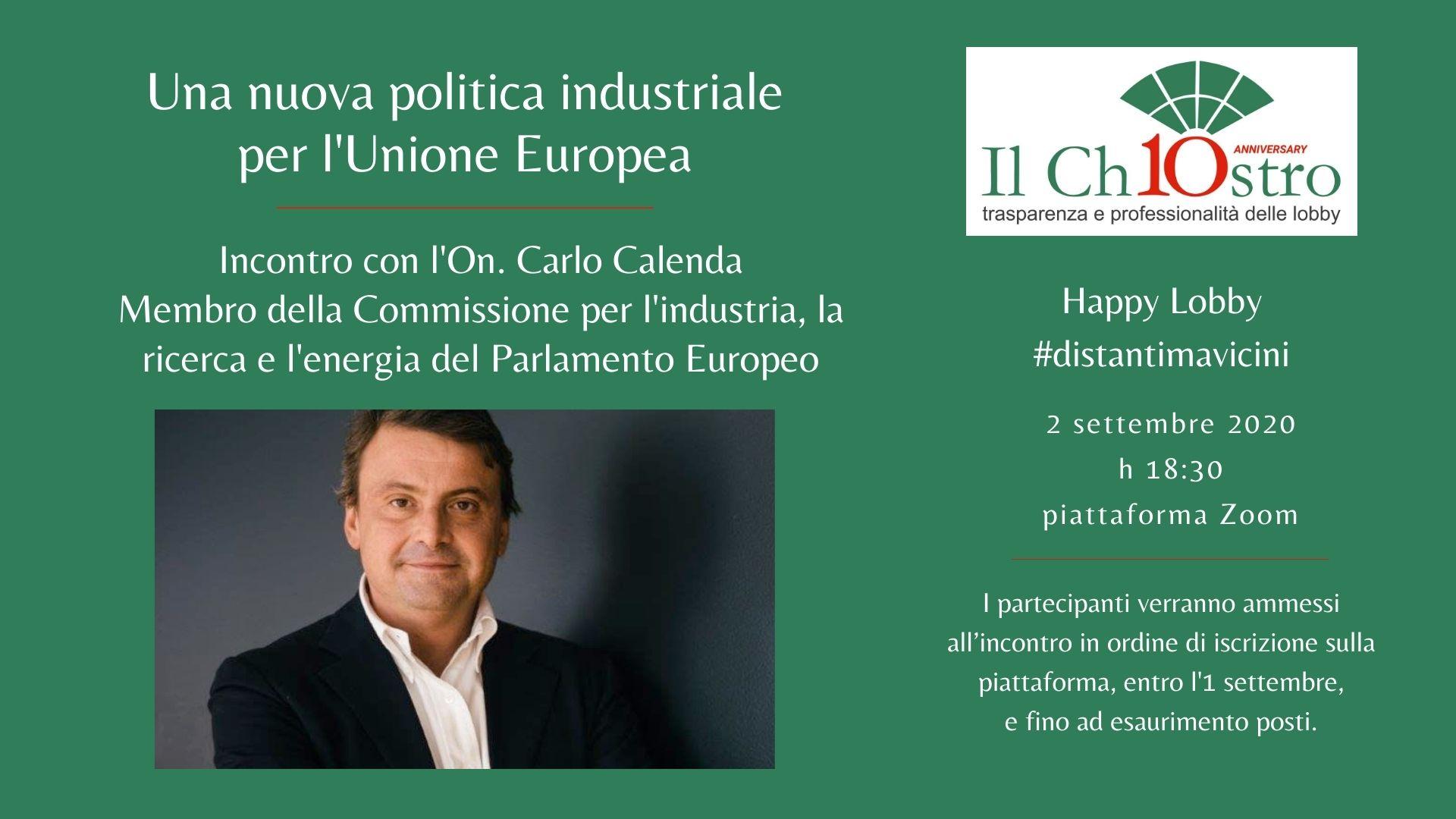 Una nuova politica industriale per l'Unione Europea
