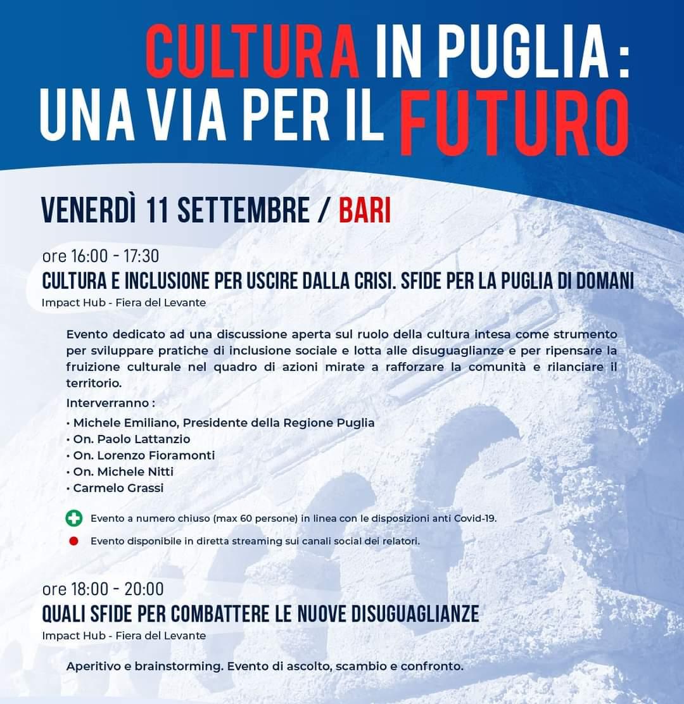 Cultura in Puglia: una via per il futuro