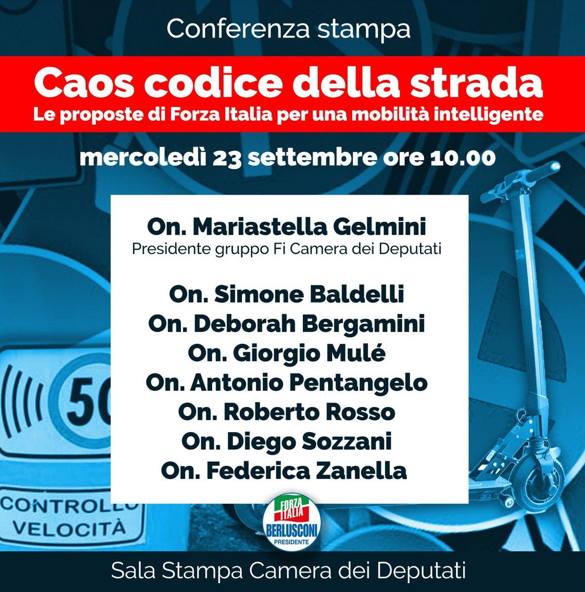 Caos Codice della strada. Le proposte di Forza Italia per una mobilità intelligente