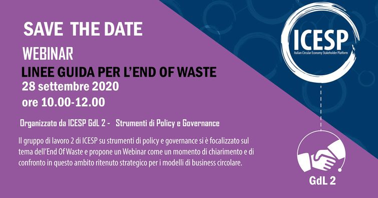 La nuova disciplina dell' End of Waste: aspetti normativi e applicativi
