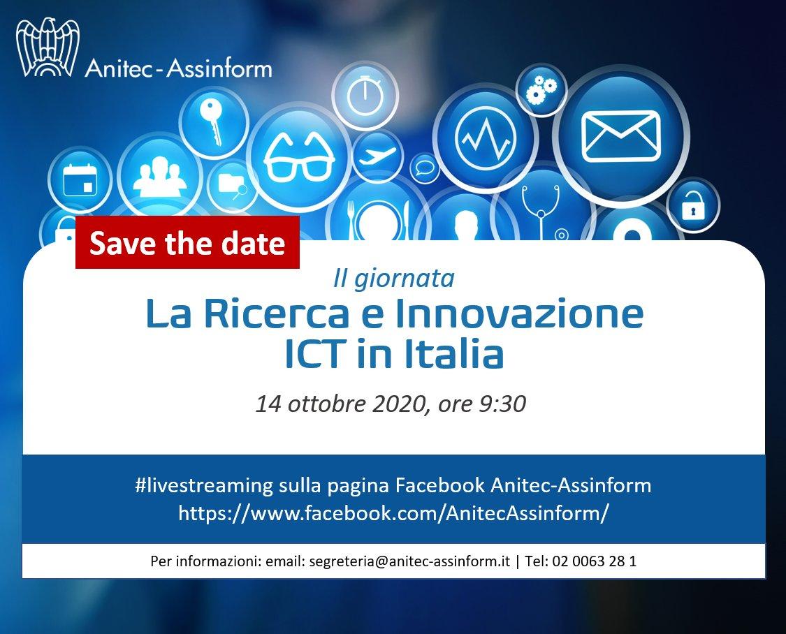 """Presentazione del I° rapporto Anitec-Assinform: """"Ricerca e Innovazione ICT in Italia"""""""
