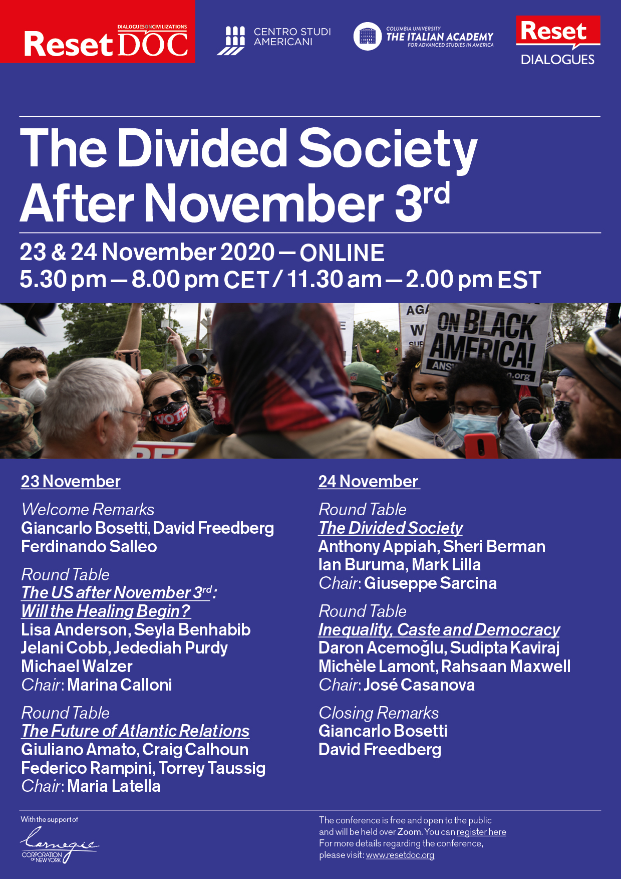 The Divided Society after 3 November