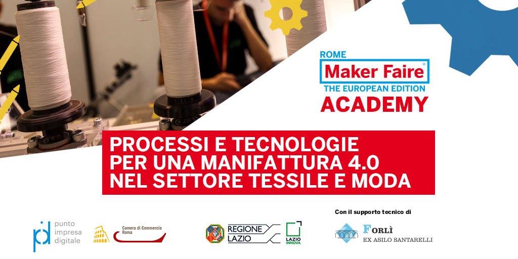 Processi e tecnologie per una manifattura 4.0 nel settore tessile e moda