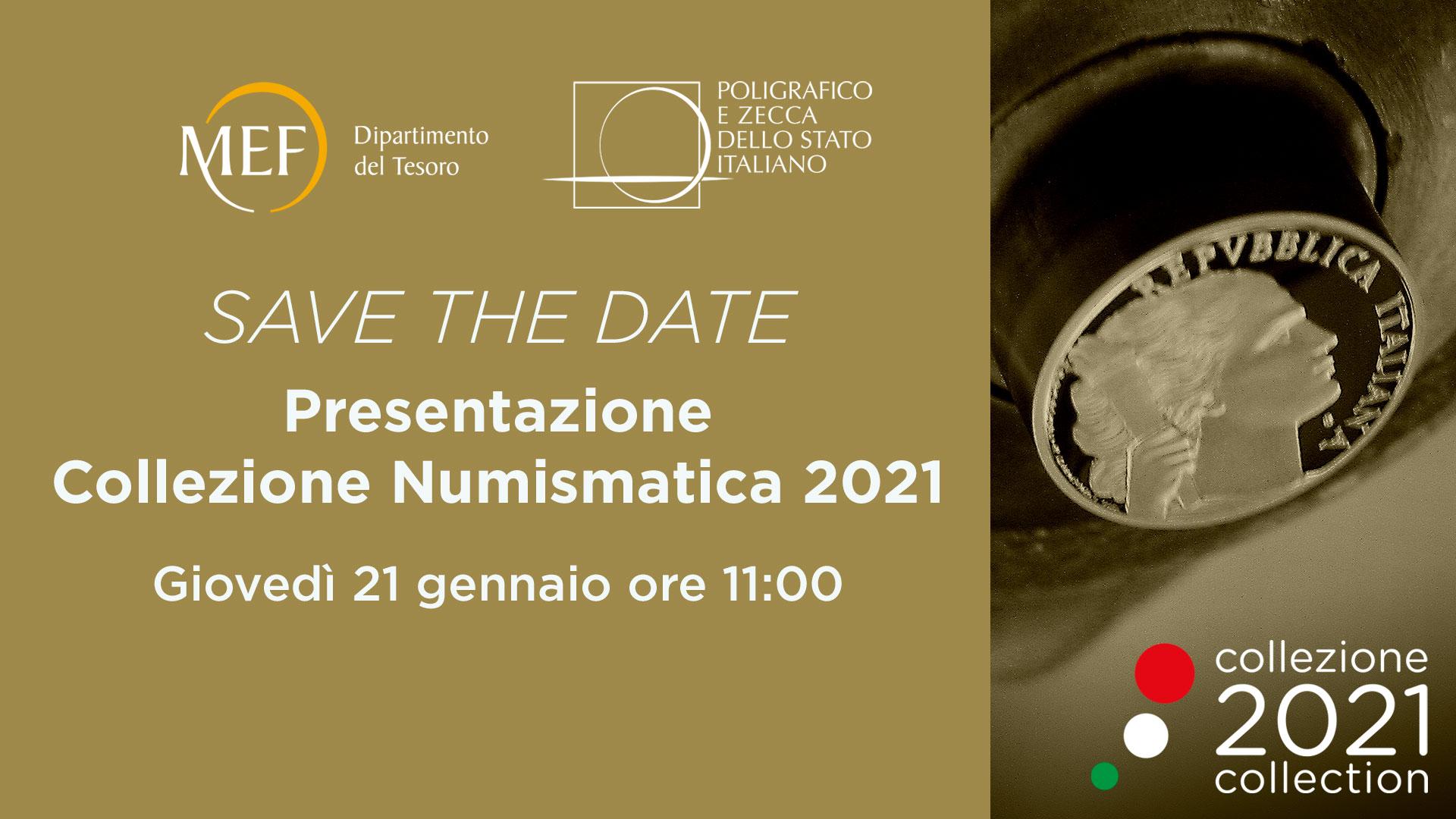 Presentazione della Collezione Numismatica 2021