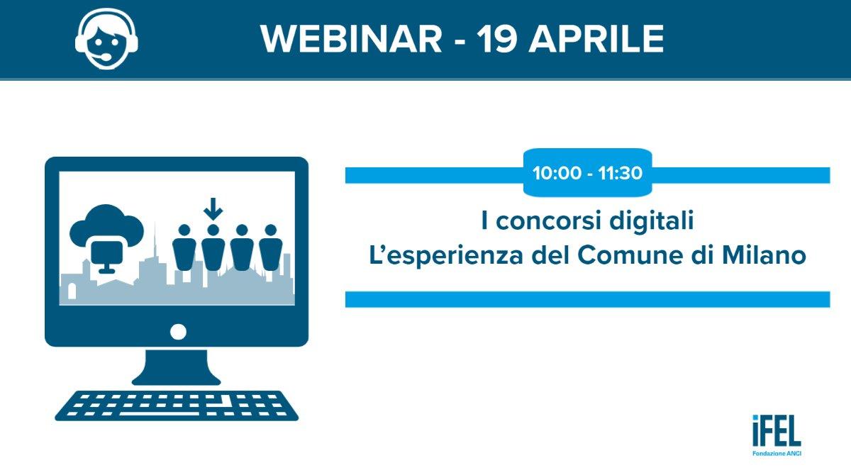 I concorsi digitali. L'esperienza del Comune di Milano