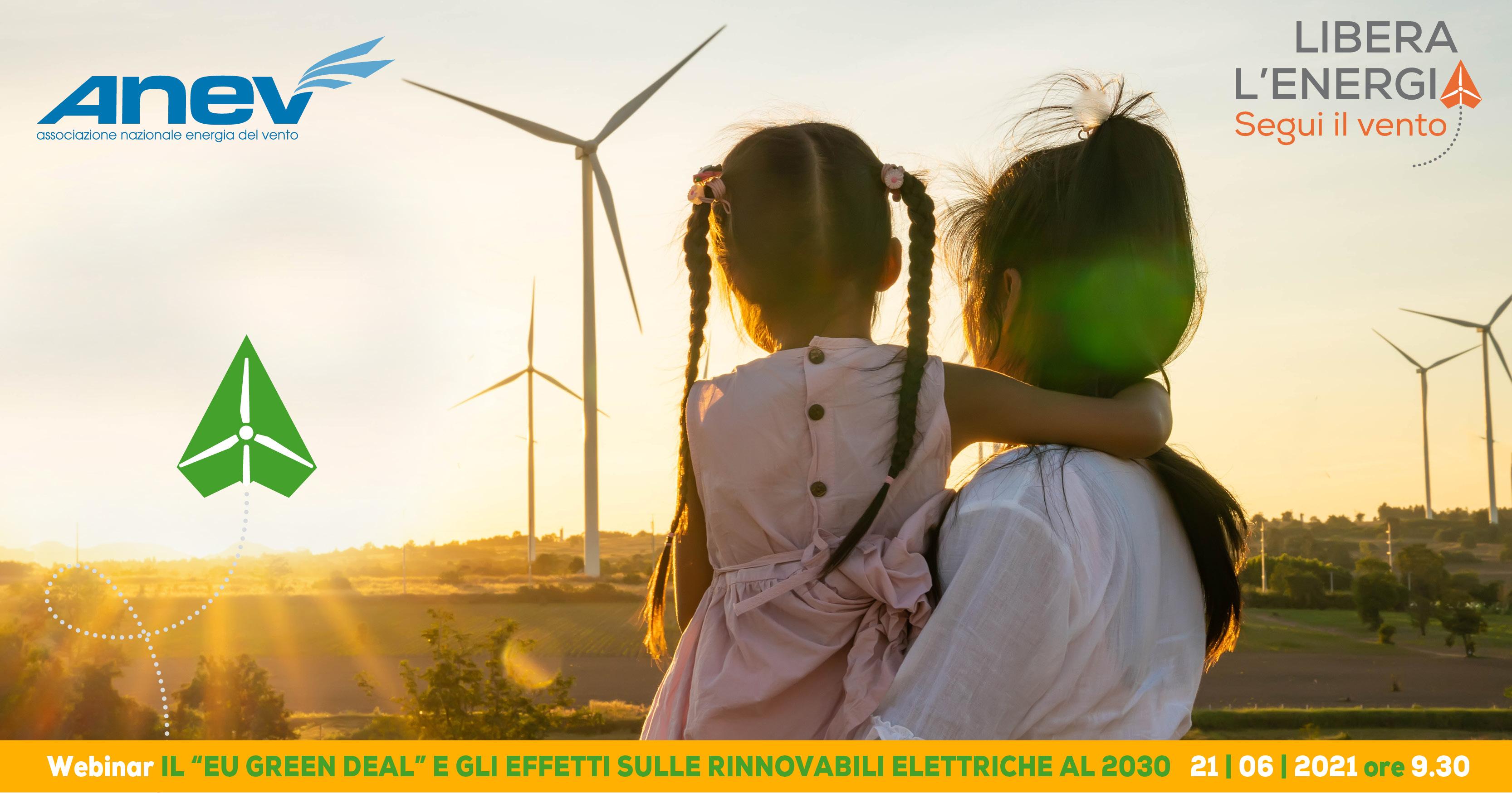 """Il """"EU Green Deal"""" e gli effetti sulle  rinnovabili elettriche al 2030"""