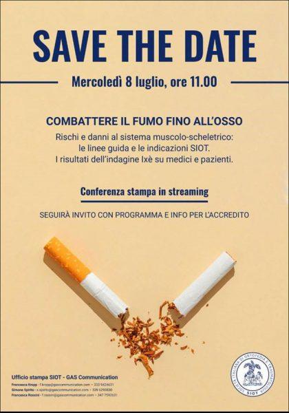 Combattere il fumo fino all'osso