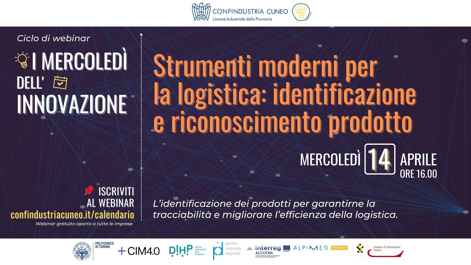 Strumenti moderni per la logistica: identificazione e riconoscimento prodotto