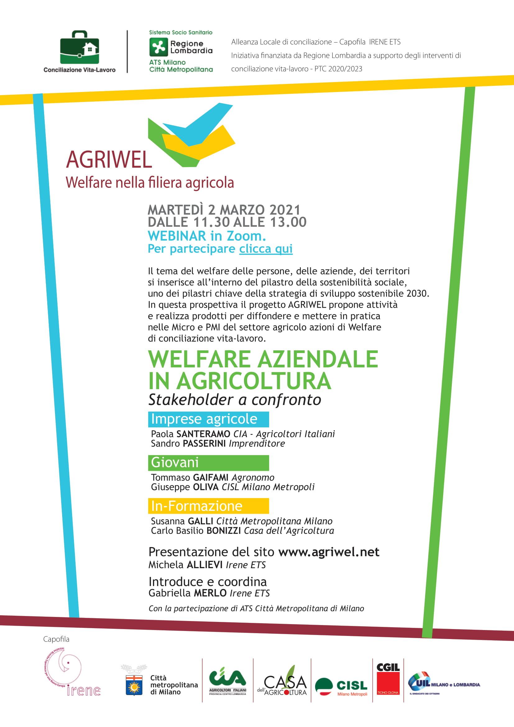 Welfare aziendale in agricoltura. Stakeholder a confronto