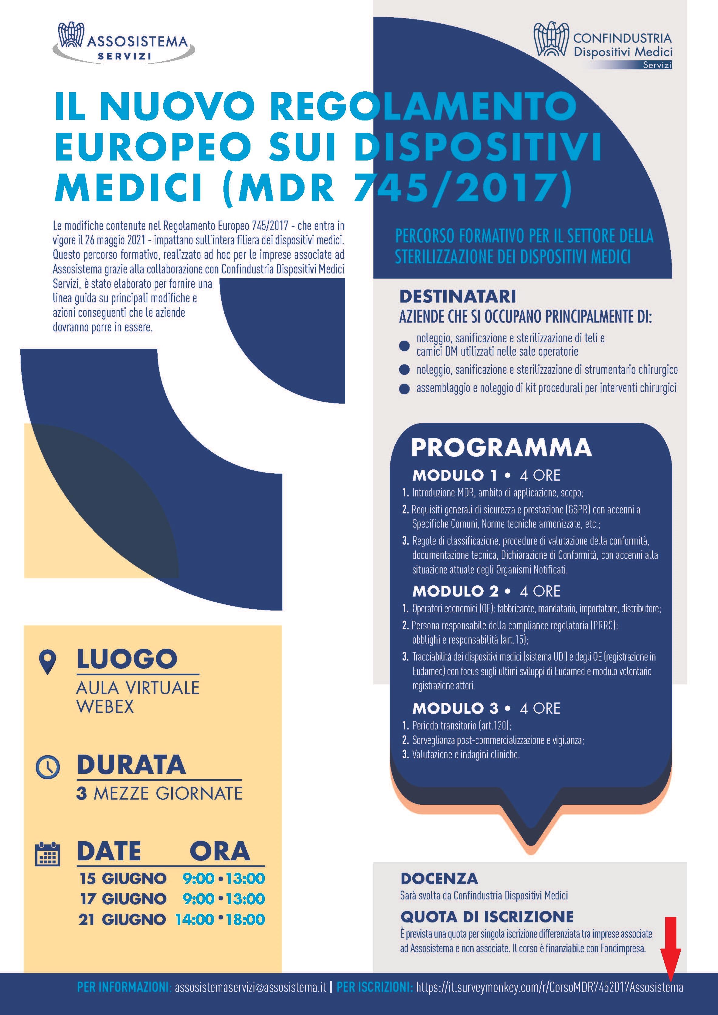 Il nuovo regolamento europeo sui dispositivi medici (MDR 745/2017)