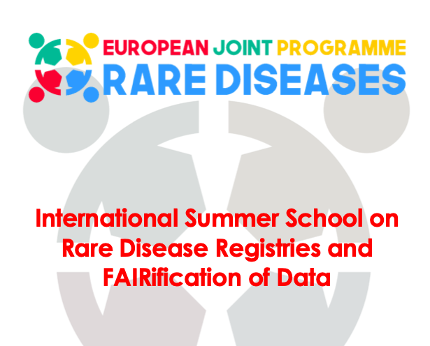 International Summer School on Rare Disease Registries and FAIRification of Data