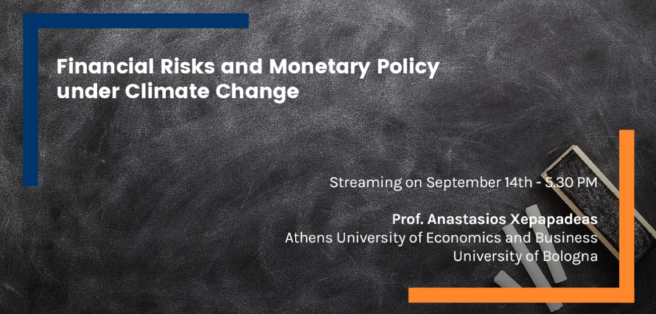 Financial Risks and Monetary Policy under Climate