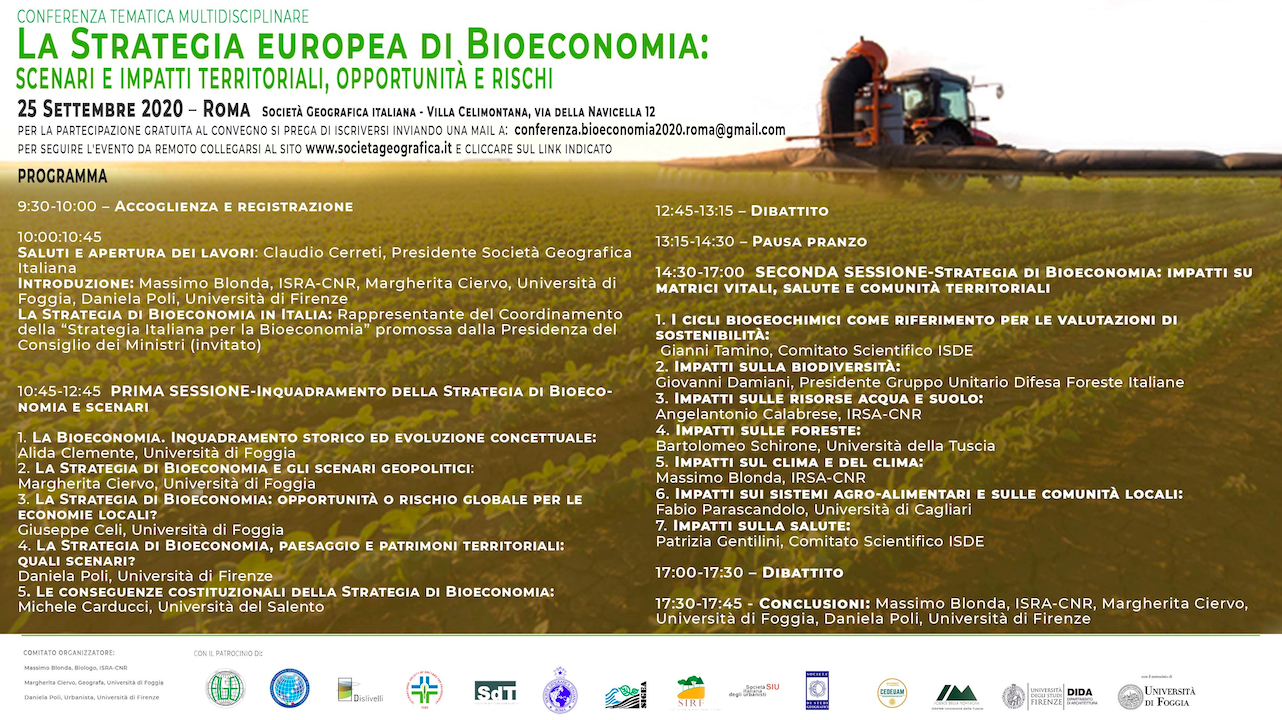 La Strategia Europea di Bioeconomia