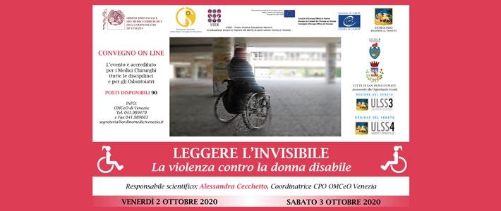 Leggere l'invisibile. La violenza contro la donna disabile