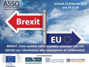 Brexit. Cosa cambia nello scambio commerciale tra UE/UK con riferimento alla valutazione di conformità