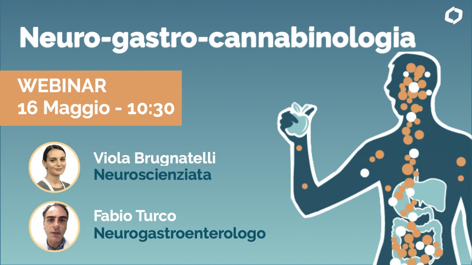Neuro-Gastro-Cannabinologia. Squilibri dell'appetito, problemi digestivi, intestinali, irritabilità e insonnia