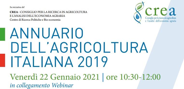 Annuario dell'agricoltura italiana 2019-2020