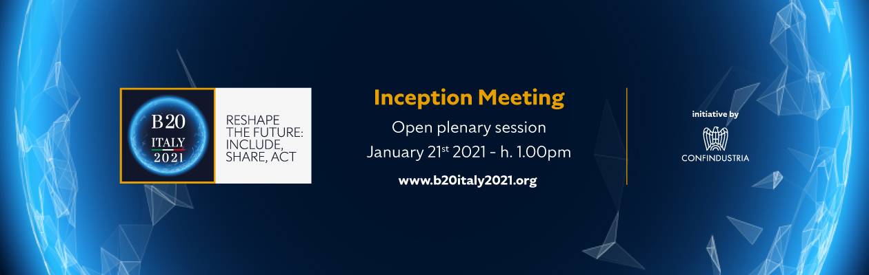 B20 Italy 2021 Inception Event