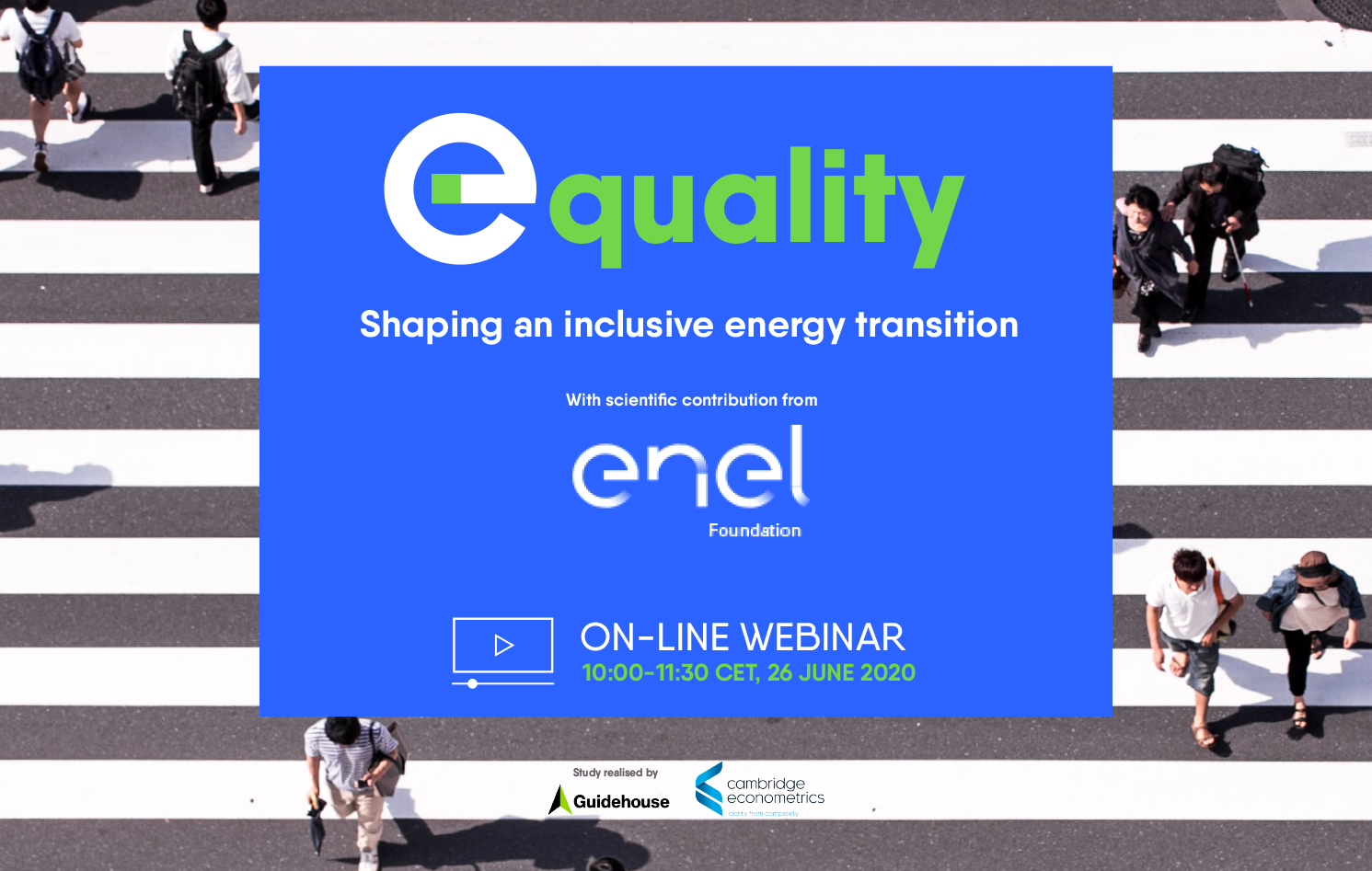 E-quality: shaping an inclusive energy transition