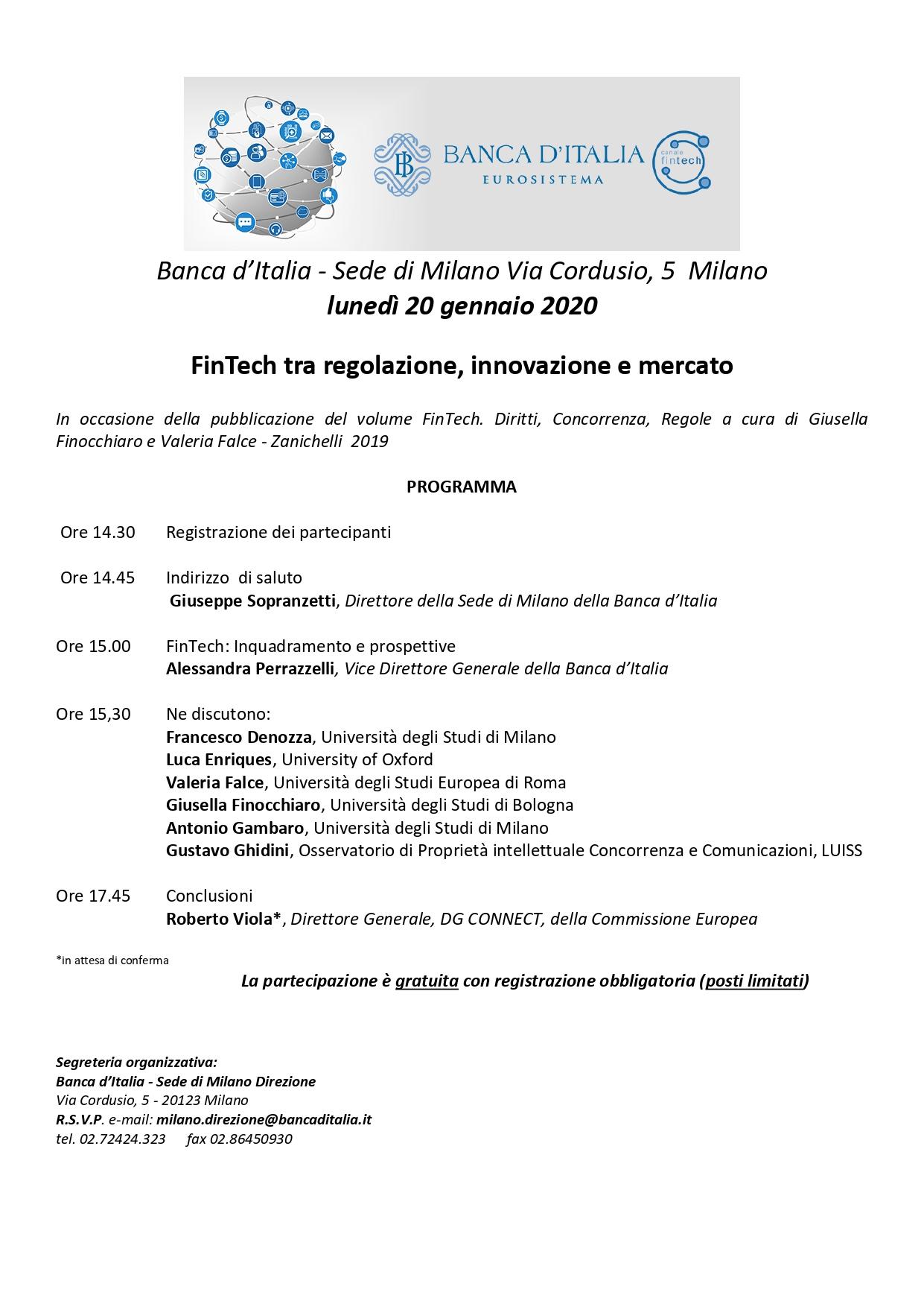 FinTech tra regolazione, innovazione e mercato