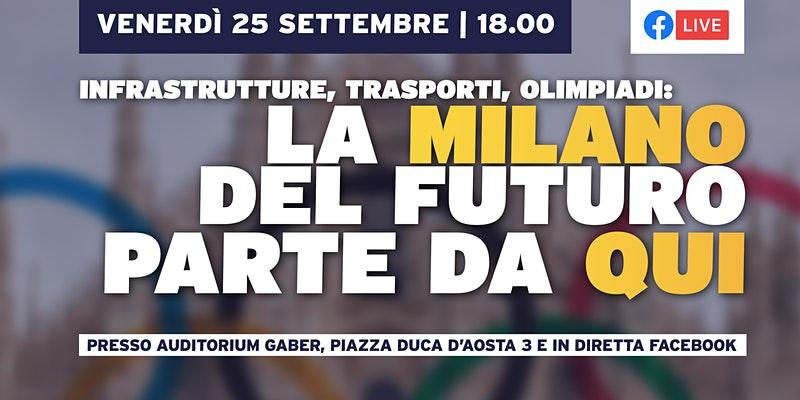 Infrastrutture, trasporti, olimpiadi: la Milano del futuro parte da qui