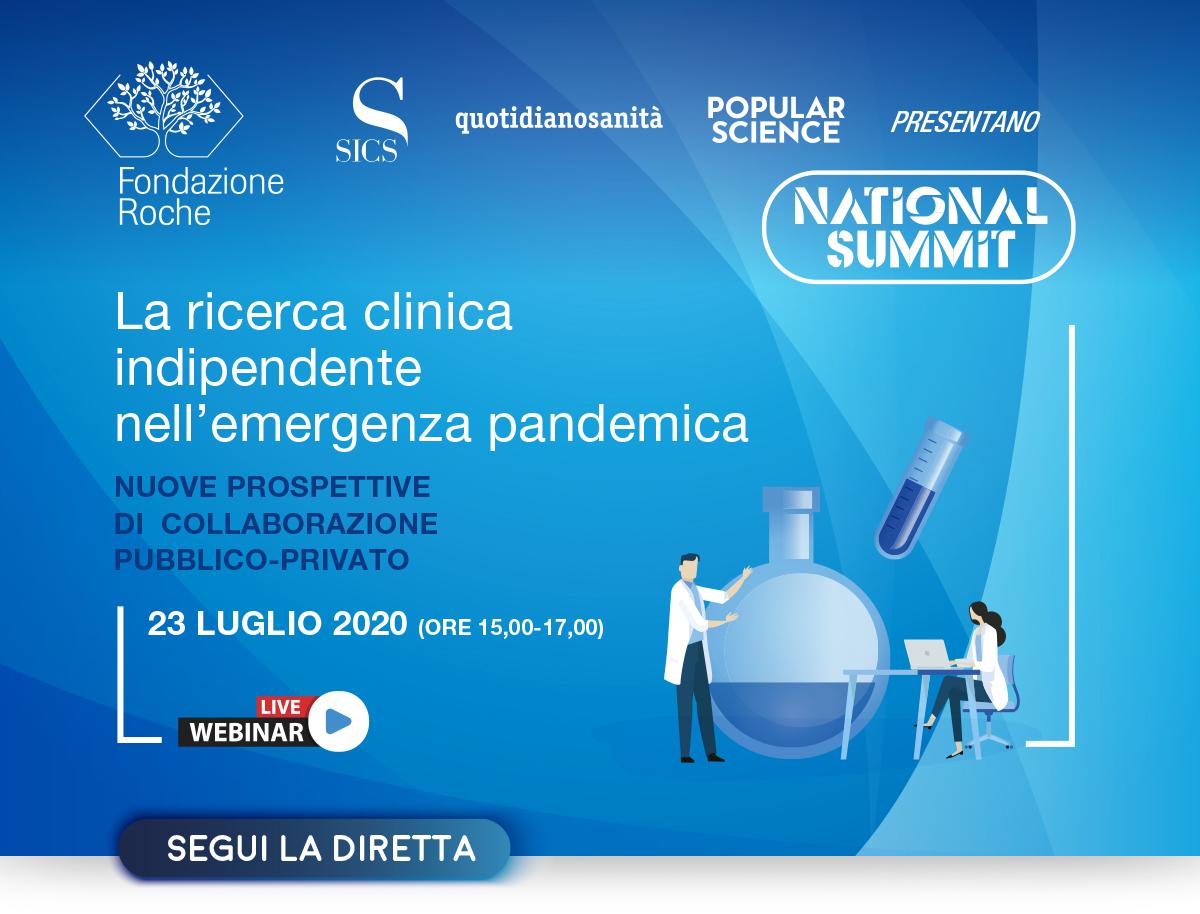 La ricerca clinica indipendente nell'emergenza pandemica