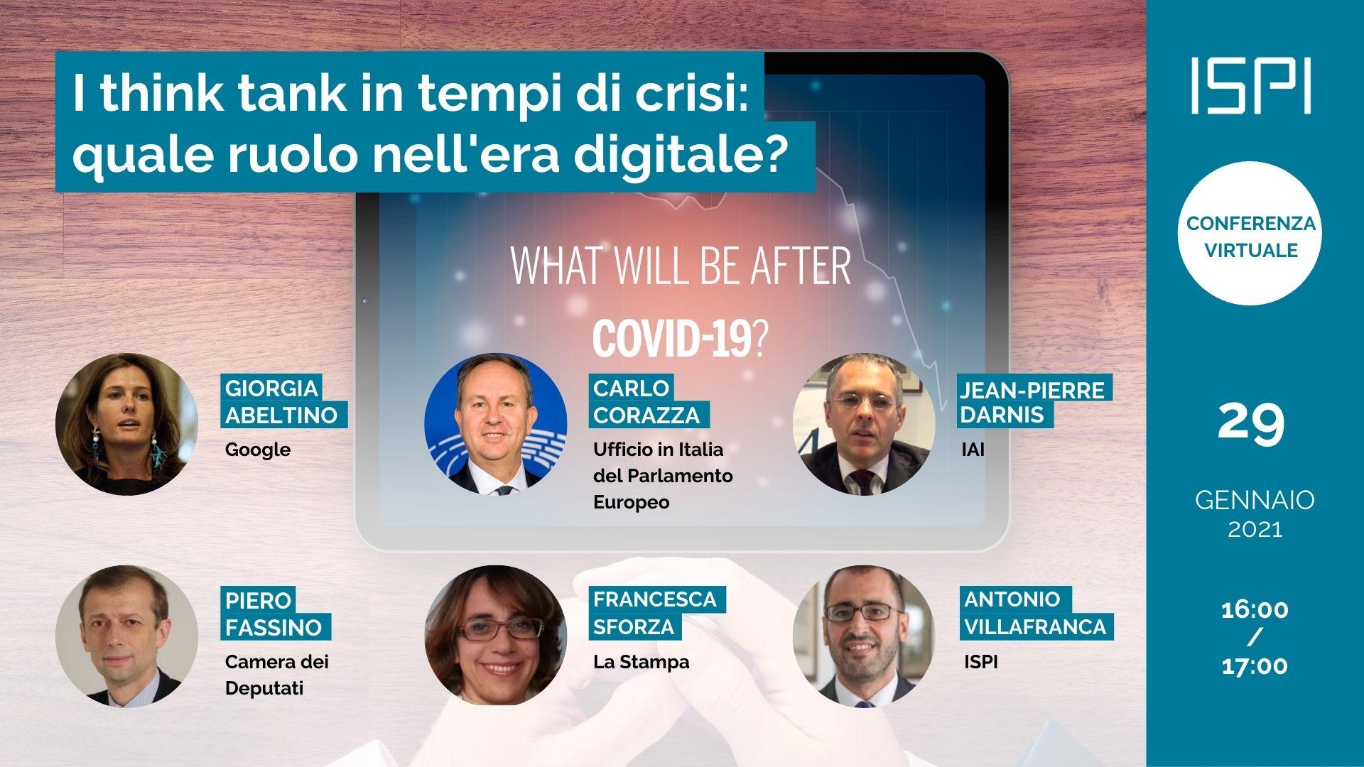 I think tank in tempi di crisi: quale ruolo nell'era digitale?
